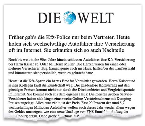 Kfz Versicherung G Nstig 2015 by Dvag Deutsche Verm 246 Gensberatung Unternehmensblog
