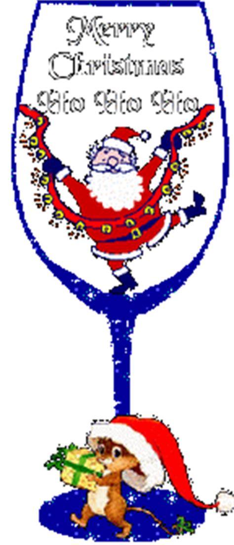 kleine kerst animaties kerstglazen