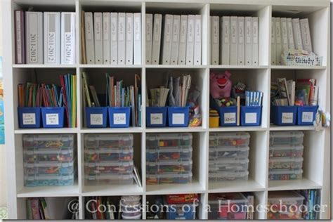 Storage Solutions For Craft Rooms - homeschool supplies amp organization confessions of a homeschooler