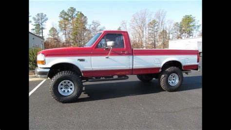 94 ford f150 for sale 1994 ford f 150 xlt lifted truck for sale