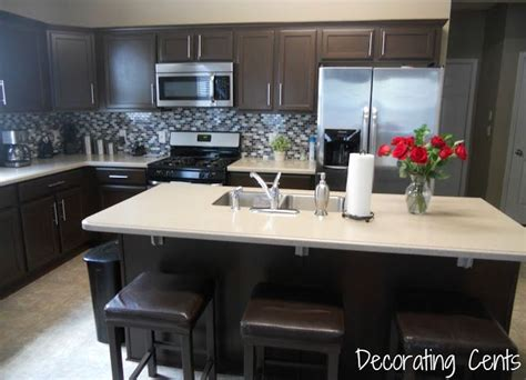 decorating cents kitchen cabinets revealed 16 best restain kitchen cabinets images on pinterest