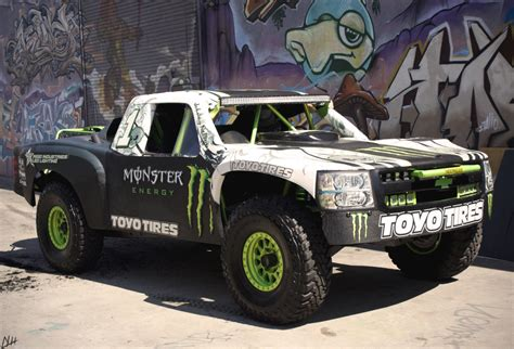 hoonigan truck bj baldwin s monster energy x hoonigan baja truck