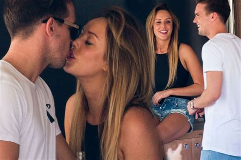 gary beadle admits it was awkward seeing charlotte after ex on the beach showdown charlotte crosby s former flame