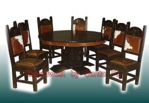 Western Style Dining Room Sets large southwestern style dining tables