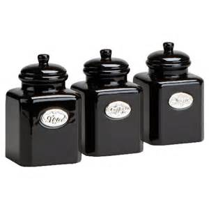 black kitchen canister set tesco country kitchen tea coffee sugar bundle