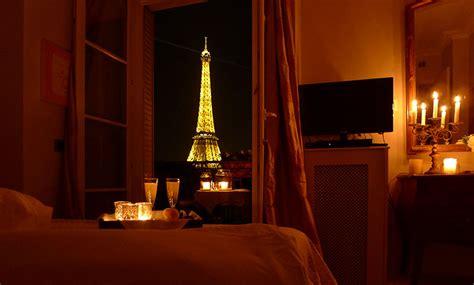 Mirrored Bedroom eiffel tower apartment in paris
