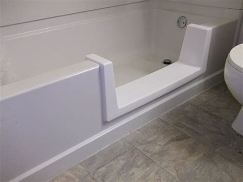 shower base to replace bathtub tub to shower conversion l nw tub shower