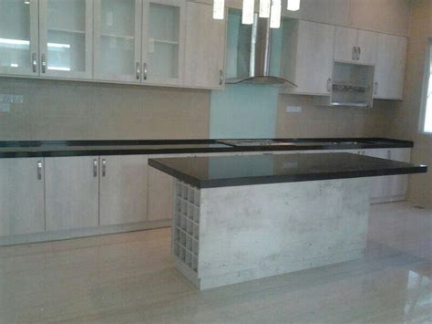 kitchen tabletop kitchen cabinet with black granite table top surface