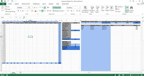 Credit Card Tracking Excel Template Excel Budget Report Template Microsoft Excel Tips From