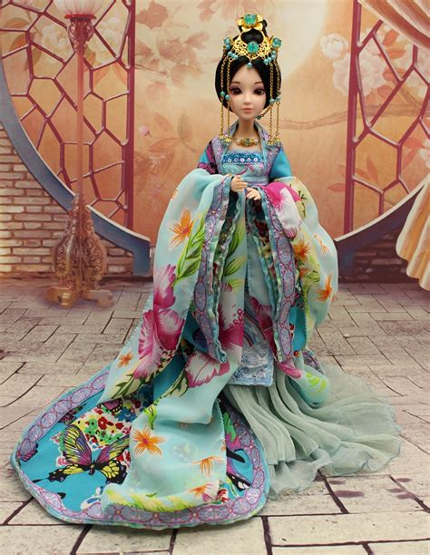 jointed doll 1 6 30cm handmade ancient costume doll 12 jointed doll