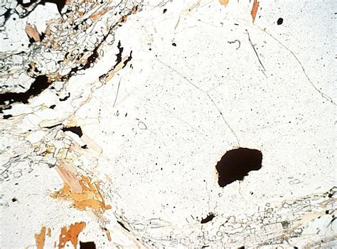 cordierite thin section metamorphic minerals