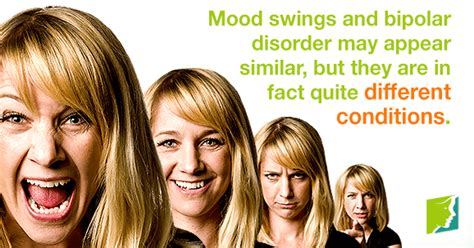 different mood swings bipolar disorder or mood swings the difference