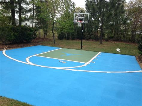 diy backyard basketball court 17 best ideas about outdoor basketball court on
