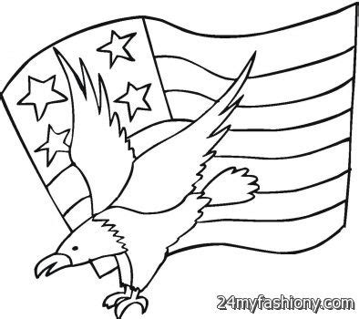 american flag and eagle fourth of july coloring page for 4th of july eagle coloring pages images 2016 2017 b2b