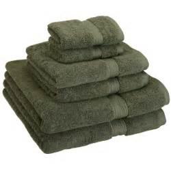 cotton bath towel sets superior cotton 900 gsm 6 towel set forest