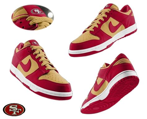 athletic shoes san francisco nike san francisco 49ers sneakers athletic shoes 49ers