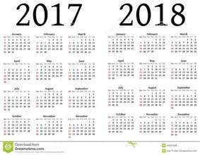 Kalender 2017 And 2018 Julian Calendar 2018 Calendar Printable Free
