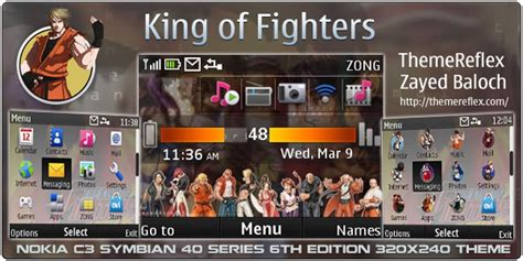 games themes for nokia x2 01 king of fighters theme for nokia c3 x2 01 themereflex
