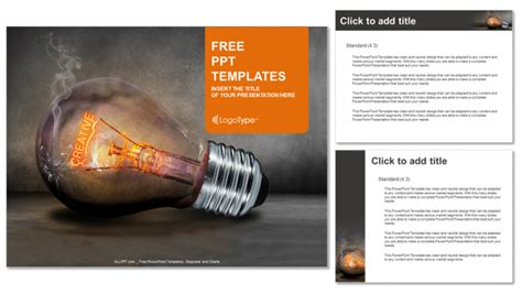 creative ppt templates free creative bulb business powerpoint templates