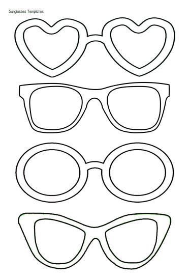coloring page sunglasses quot summer is sweet in preschool quot bulletin board idea