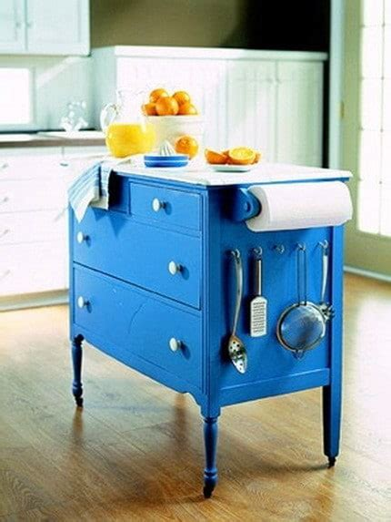 Repurposed Kitchen Island Ideas Repurposed Furniture Kitchen Island From Dresser Removeandreplace