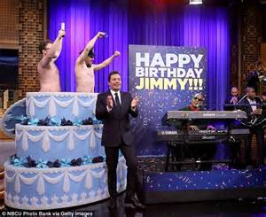 hot chick jumping out of cake james franco and seth rogen go shirtless and jump out of a