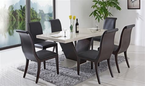 modern dining room tables sets minimalist but look so furniture interior design