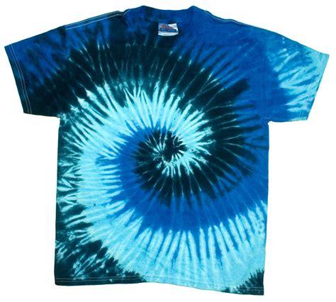 blue pinwheel spiral new tie dye t shirt xl use