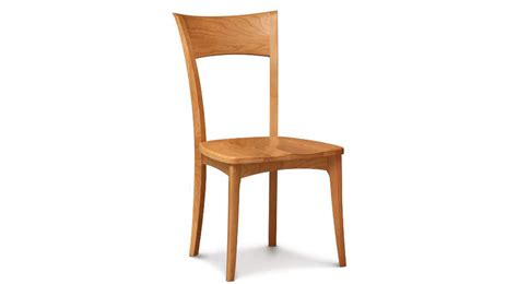 circle furniture ingrid side chair cherry dining chair