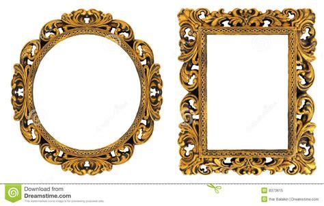 cornici oro cornici dell oro immagine stock immagine di decorativo