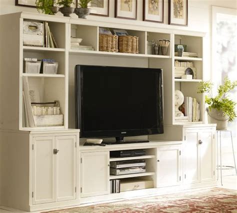 pottery barn media cabinet white 9 best images about stand on modern
