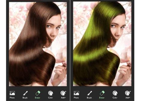hair color booth for iphone aplicativos gr 225 tis que mudam a cor do cabelo para android