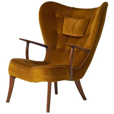 modern swedish furniture acton schubell and ib madsen lounge chair for sale at 1stdibs