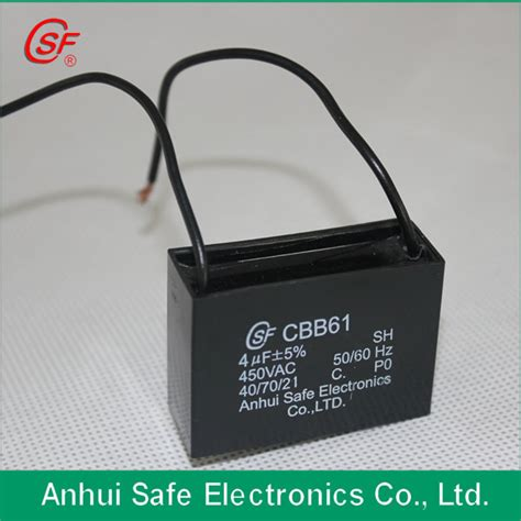 capacitor cbb61 cqc ac motor capacitor cbb61 for fan use with sgs cqc ac motor capacitor ac motor capacitor ac