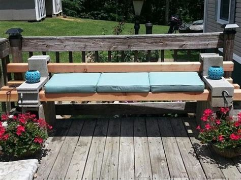 cinder block bench diy diy garden benches and tables made with cinder blocks