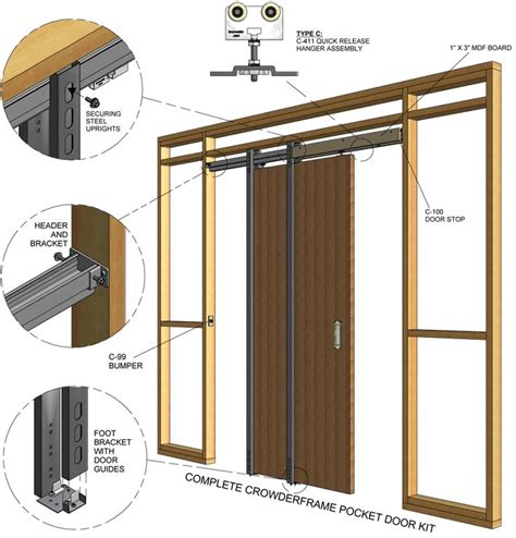 Pocket Doors Installation pocket door install diy honey do this for me