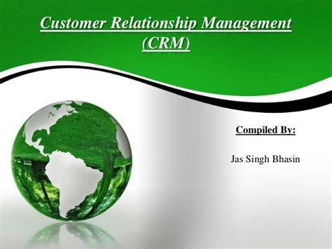 Customer Relationship Management Ppt For Mba by Customer Relationship Management Crm