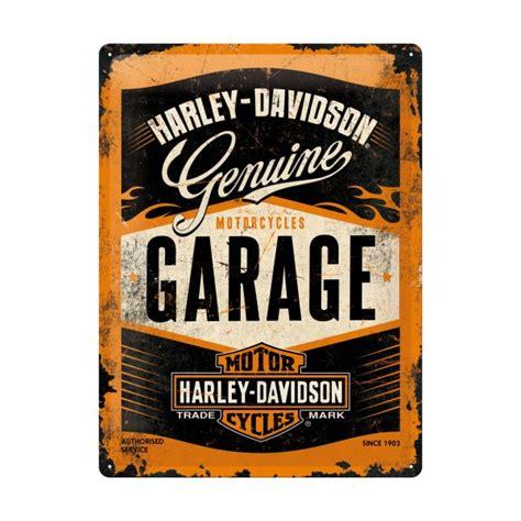 Harley Davidson Garage by Harley Davidson Garage Tin Sign 40x30cm