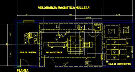 mri room  dwg block  autocad designs cad