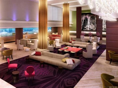 hotel lobby design luxury hotel lobby with purple carpet 1024x768 lobby and