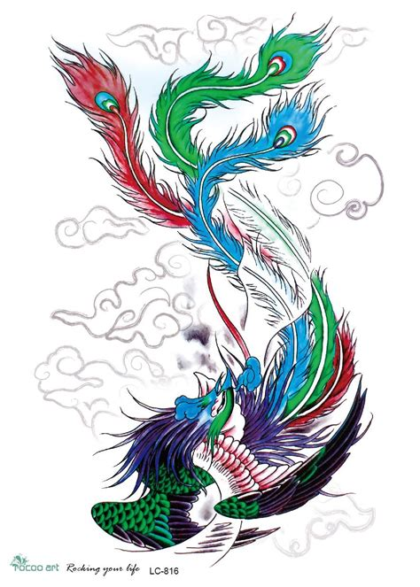 phoenix 3d tattoo design buy wholesale designs from china