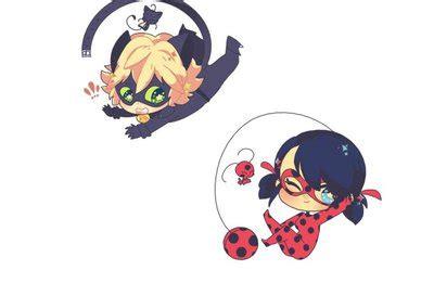 imagenes kawaii ladybug ladybug y chat noir kawaii by marichatfan15 on deviantart