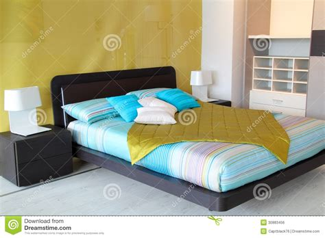 colorful bedroom furniture colorful bedroom royalty free stock image image 30883456