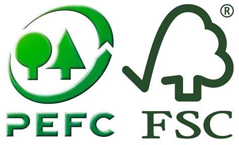 labelling logo use labelling logo use pefc fsc et pefc pour des for 234 ts durables
