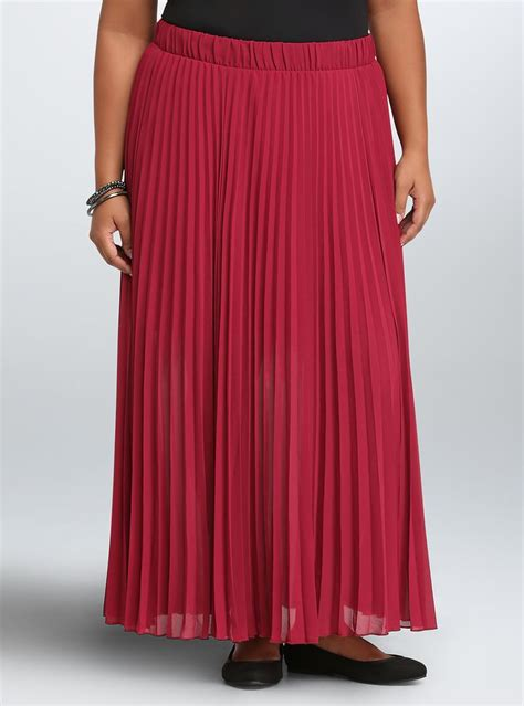 Pleated Chiffon Skirt 1000 ideas about chiffon maxi skirts on maxi