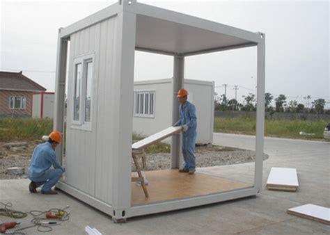 Mini Prefabbricate by Recycled Mini Flat Pack 10ft Container Prefab Guard House
