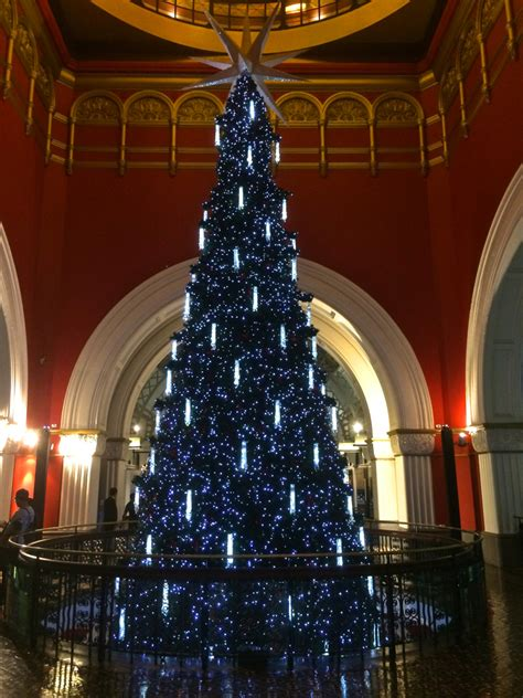 christmas has arrived at the qvb in sydney travel blog