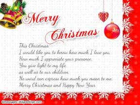 christmas wishes for wife 365greetings com
