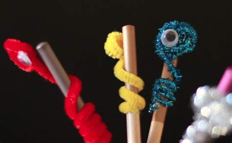 Bookworm Pencil Toppers Crafts For Pbs Parents Pbs