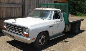 1985 dodge 3500 dump truck find for sale photos